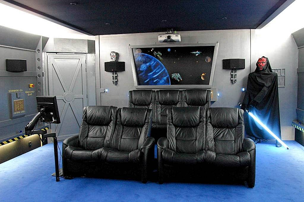 Salle home cinema star wars images - Home cinema salle dediee ...